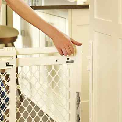 Extra Wide Large Heavy Durty  Baby Pet Child Dog Safety Gate Barrier Home Decor