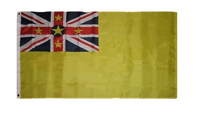 Flag of Niue 3x5 ft Pacific Island New Zealand Polynesia Banner Nation Country