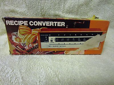 Recipe Converter No. 9471 Converts Recipe Serving Sizes