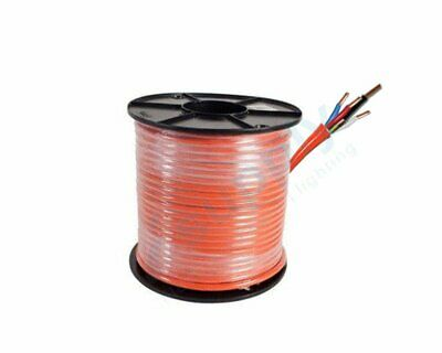 4mm 4Core and Earth Orange Circular TPS Electrical Cable 100mtrs