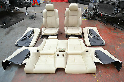 Bmw 6 Series E63 Beige Full Leather Seats & Door Cards