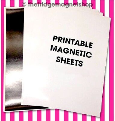 A4 Magnetic Photo Paper GLOSS/MATT Ink Jet Sheets Printable Business Cards