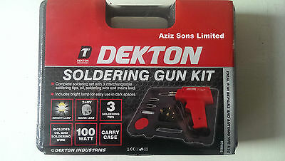 New Electric 100w Soldering Gun Set / Iron Kit