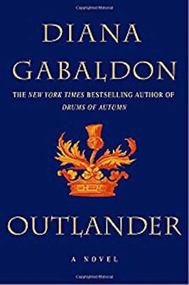 Complete Set Series - Lot of 8 Outlander books by Diana Gabaldon Voyager Amber