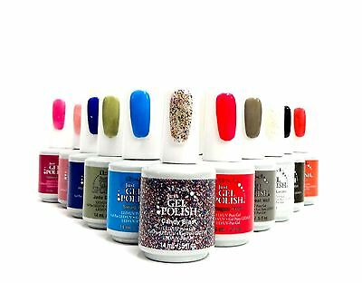ibd Nail Soak off JUST GEL POLISH Assorted Colors Variety 56848-56927 .5oz/15ml