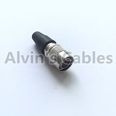 Compatible 4 pin hirose HR10A-7P-4S  Female Power Plug Push Pull connector
