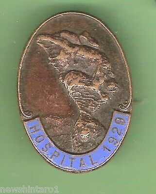 #d59.  Coonabarabran  1929 Hospital Lapel Badge