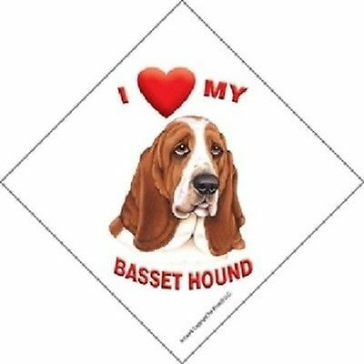 I Love *Heart* My Dog Sign Car Home Window Suction Cup Almost Every Breed!!! New