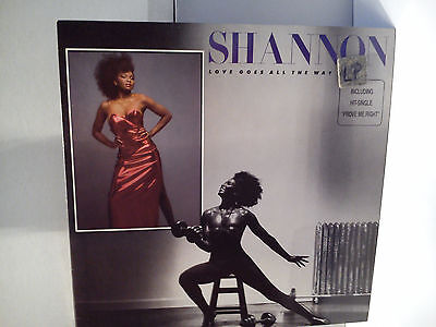 Shannon - Love goes all the way..................  Vinyl