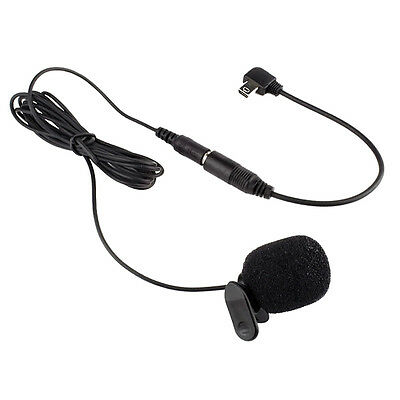 3.5mm Mini External Microphone Clip On Mic for GoPro Hero 3 Hero 3+ HOT