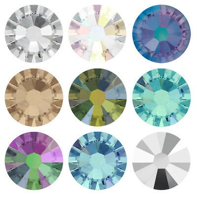 Wholesale Genuine SWAROVSKI 2058 Flat Back NoHotfix * Crystal Color with Effects