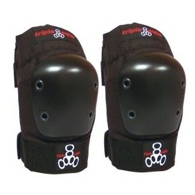 Triple Eight 8 Skate EP55 Capped Elbow Pads X-Large Black Skateboard