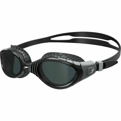 Speedo Futura Biofuse Swimming Goggles - Grey Black , Triathlon Goggles