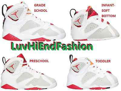 Nike Air Jordan Vii 7 Retro Hare Bugs Bunny 100% Authentic Kids: Gs Ps Td Gp