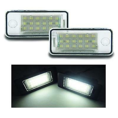 Audi - S3 2004-008 18 SMD LED Replacement Number Plate Units 6000K White