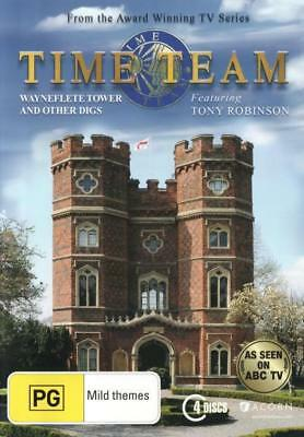 Time Team Season 13 Wayneflete Tower And Other Digs DVD R4 New!