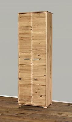 hochschrank wildeiche massiv dielenschrank schrank garderobe kleiderschrank eur 399 00. Black Bedroom Furniture Sets. Home Design Ideas