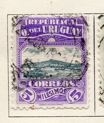 Uruguay 1919 Early Issue Fine Used 5c. 141292