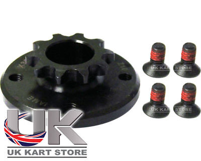 Iame X30 Genuine 11t Front Clutch Sprocket & Bolts UK KART STORE
