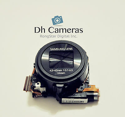 New Lens Zoom Unit Replacement Part for Samsung WB30 WB30F Camera Black A0323