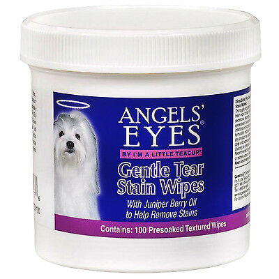 Angels' Eyes Gentle Tear Stain Wipes For Dogs Angel`s 4 oz 100 Ct