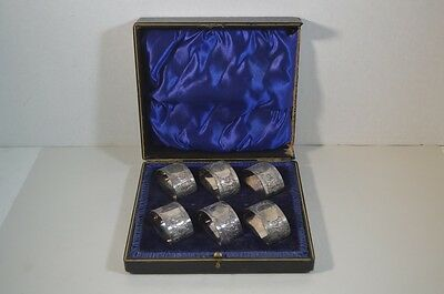 Antique Silverplate Napkin Rings