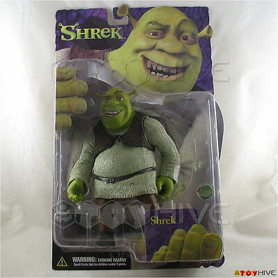 Shrek 6-inch action figure open mouth variant by McFarlane Toys 2001 Dreamworks