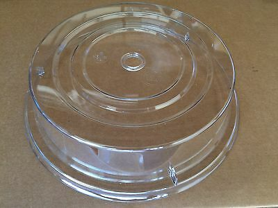 """Cambro Camcover 11"""" Clear #1101CW152 Lot of 12 NEW"""