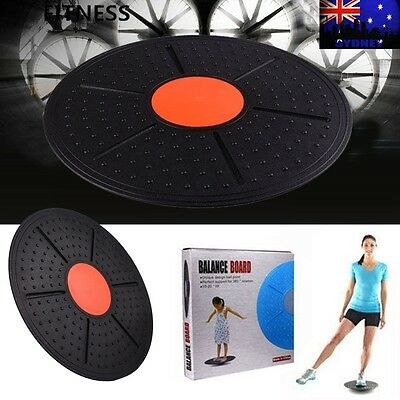 Professional Balance Board Fitness Wobble Yoga Training Plastic Pilates Home Gym