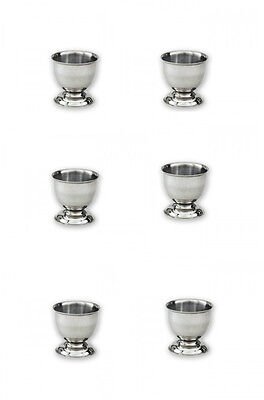 Egg Cups Stainless Steel x 6