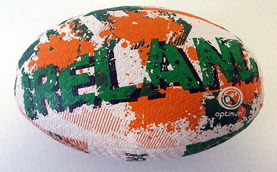 102545 SPORTS DEAL Optimum Nations World Cup 2015 Rugby Ball - Ireland