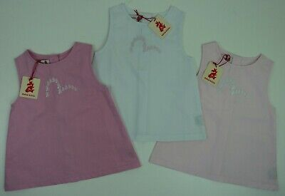 Authentic Evisu Kizzu Babies Dress, Pink. Sizes 3m to 23m. Brand New With Tags