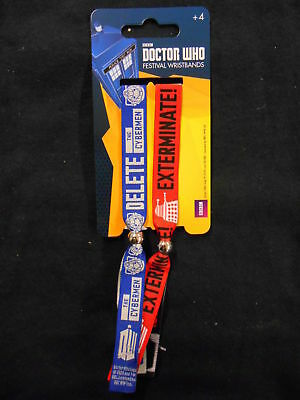 "Doctor Who ""cybermen/daleks"" Festival Wristbands (Pyramid)"