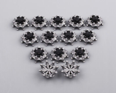 Golf Spikes Pins 14pcs 1/4 Turn Fast Twist Shoe Spikes Replacement For Footjoy