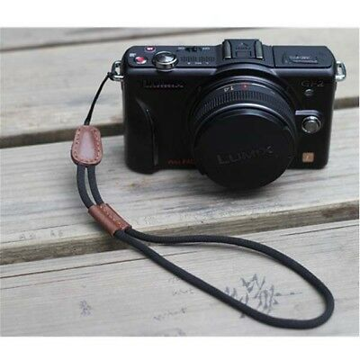 25cm Genuine Leather Hand Wrist Strap Lanyard for Camera Cell Phone MP3 MP4