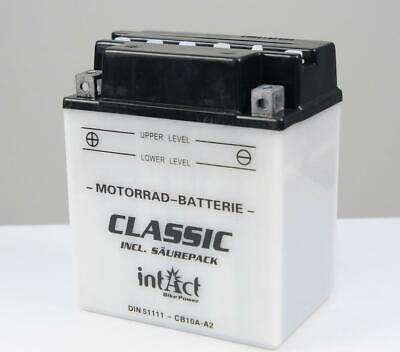 Intact Classic Batterie 51111 YB10A-A2 51111S