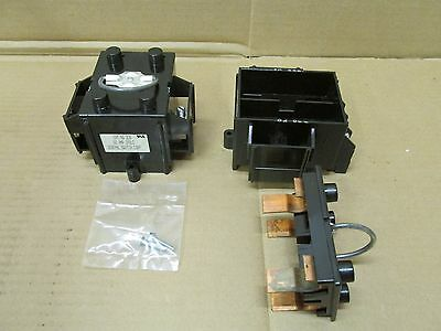 New General Switch 206 Base Fuse Block Holder 2 Pole 60 Amp Pull Out G-44244 Lug