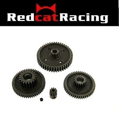 Redcat Racing RS10 Steel Gear Set with 10T Pinion  4 Gears as Pictured  RCT-H106