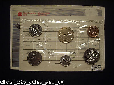 Canada 1990 Proof-Like Set with Doubled Rev Legend 50 Cents