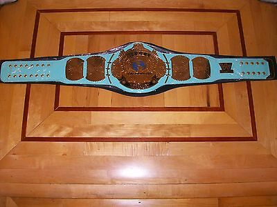 *wwf/wwe Blue Winged Eagle Championship Title Belt 4Mm Adult Casted Plates Mint*