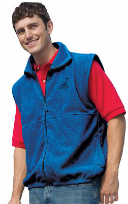 Inner Harbor Men's Poly Full Zip Sleeveless Fleece Outerwear Winter Vest. 41