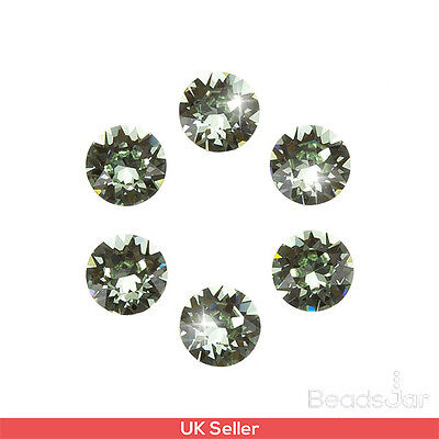 Swarovski 1088 Crystal XIRIUS Chatons Chrysolite Foil Back SS29 6mm (D101/12)