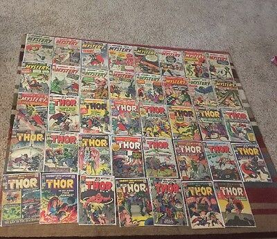 Journey Into Mystery 86 88-125 Complete Run Vg 4.0 Avg 99 101 103 102 118 Etc.