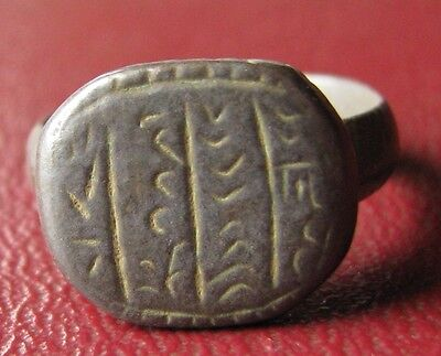 Authentic Ancient Artifact   Unidentified BRONZE RING SZ: 6 1/2 US 16.75mm 11907