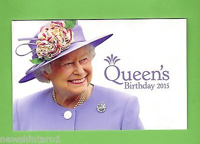#d168. Queen Elizabeth Ii 2015  Birthday  Stamp  Pack