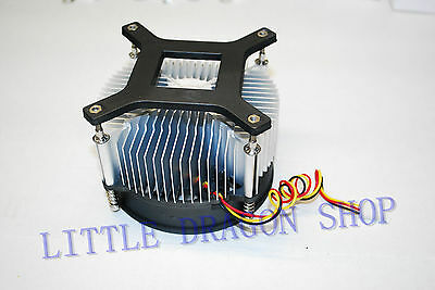 Aluminium Heat sink Fan for 10W 30W High Power LED Light Lamp Cooling DC12V 1PC