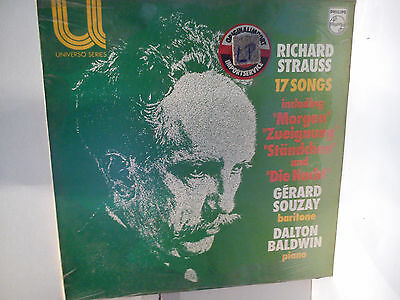 Richard Strauss - 17 Songs             ..............................Vinyl