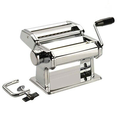 AVANTI Stainless Steel Extra Wide 180mm Pasta Making Machine Maker! RRP $69.95!
