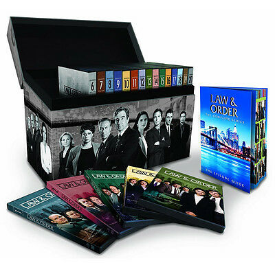 Law & Order: The Complete Series DVD 104-Disc Set (2011) Seasons 1-20 Brand New!