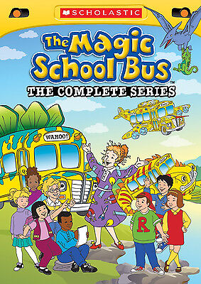 The Magic School Bus - The Complete Series 8-Disc Set (2012) * Brand New *
